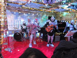 Photo of Tokyo Tokyo Robot Evening Cabaret Show Live band entertaining between shows