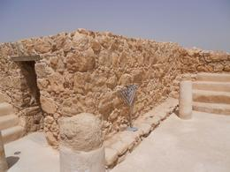 Remains of chapel, Masada - August 2010