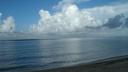 Beautiful morning at the beach next to Paradise Cove looking out toward the reef. , David K - August 2014