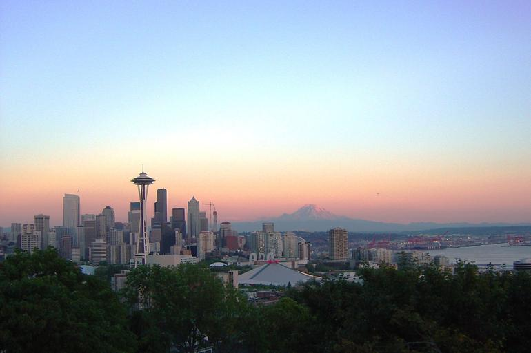 Mt Rainer from Seattle - Seattle