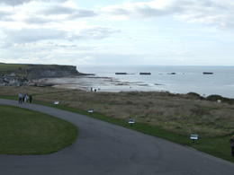 Photo of Bayeux Normandy Beaches Half-Day Trip from Bayeux Mulberry Harbor - Arromanches