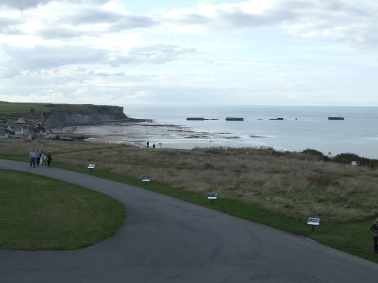 Mulberry Harbor - Arromanches - Bayeux