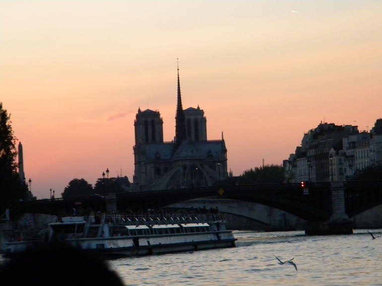 Notre Dame at Sunset - Paris