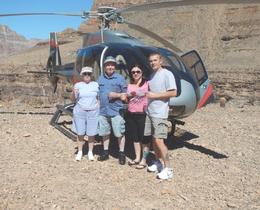 Photo of Las Vegas Grand Canyon Helicopter Tour from Las Vegas The four of us