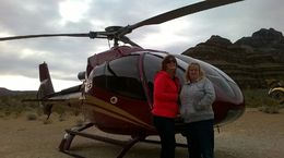Us with the Helicopter, karleen - March 2016