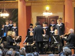 A very enjoyable concert where the boys presented a variety of musical offerings from classic 'classics' to classic 'pops'. - June 2010