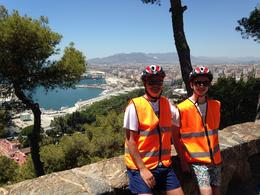 Do the 2 hour tour and enjoy this great view over Malaga from the top of the hill. , Kenneth H - July 2014