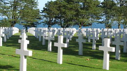 Photo of Paris Normandy D-Day Battlefields and Beaches Day Trip American Cemetery