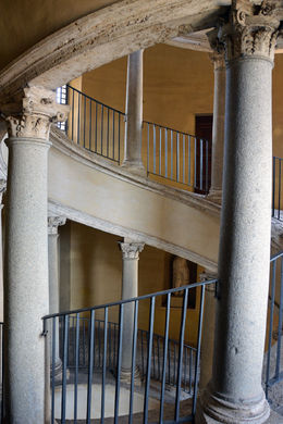 Different view of the Bramante Staircase , Todd D - May 2016