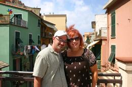 Christina and I in Cinque Terre, Stuart N - August 2008