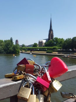 Love locks apparently are everywhere in this world , Sujeni W - August 2015