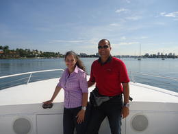 Photo of Miami Biscayne Bay Sightseeing Cruise En el crucero panoramico