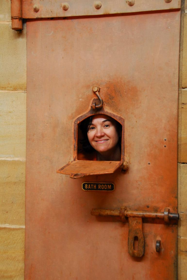 In Gaol at the Courthouse -