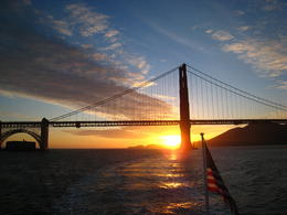 Photo of San Francisco San Francisco Bay Sunset Cruise In time for the sunset