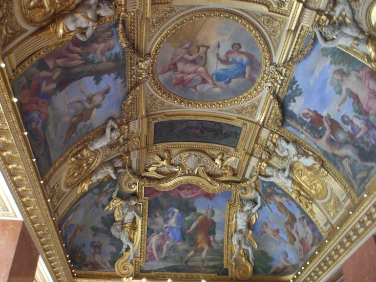 Inside the Louvre - Paris