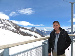 3,471 meters above sea level, taken from the The Sphinx (Jungfraujoch's Observatory) , Norvie A - July 2012