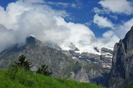 Photo of Zurich Eiger - Jungfrau Glacier Panorama View (from Zurich) Kleine Scheindegg, Mount Eiger