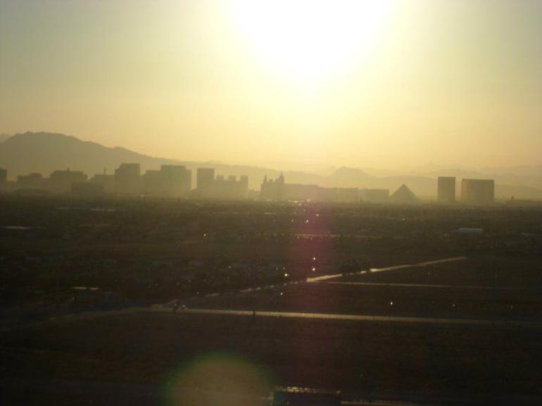 Las Vegas Strip at Sunrise - Las Vegas