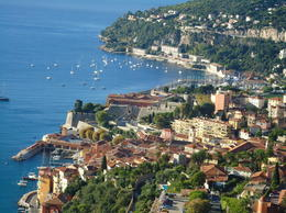 Photo of Nice French Riviera Small Group Day Trip from Nice Looking down on Nice