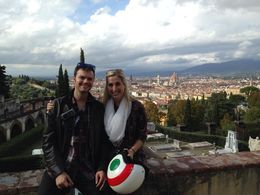 Andy and Kathryn enjoying Florence! , Andrew K - October 2015