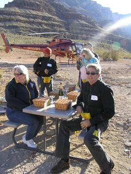 Photo of Las Vegas Grand Canyon All American Helicopter Tour Picnic at the Grand Canyon