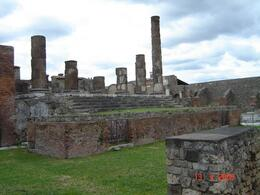 Everywhere in Pompeii you touch history., Olivia Z - May 2009