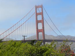 well part of the bridge and note the orange colour they paint it all the time. , Elizabeth G - August 2014