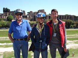 This was are guide on the Segway Tour , Duayne K - June 2012