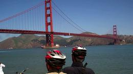 Photo of San Francisco San Francisco Golden Gate Bridge Bike Tour SF Bike Tour - viewing the Golden Gate Bridge