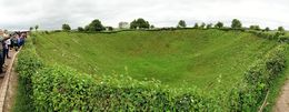 The site of the largest attempted underground blast. Tunneling under the German positions the British Commonwealth forces set of this explosion. The Germans were aware of the tunneling and moved ... , John W - June 2016