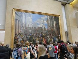 Across from the Mona Lisa hangs the Louvre's largest painting, Kevin B - June 2010