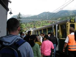 Time to board the highest train in Europe!, Claudes - February 2009