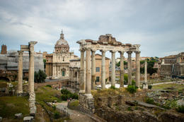 Photo of Rome Rome in a Day Tour by Electric Bike View of the Forum