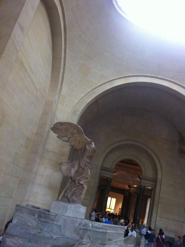 Winged Victory of Samothrace at the Louvre Museums, Paris - Paris