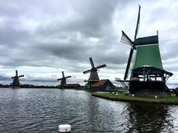 Beautiful Windmills on a very cloudy day!! I'm sure it's even more gorgeous when the sun is out! , Lisa F - September 2015
