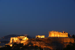 Acropolis Night View submitted via our Europe Photo Contest by tsong , tsong - January 2011