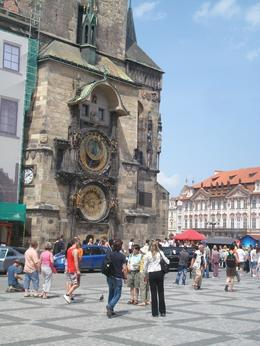 This is a very famous clock in Prague. You will find many replica of this clock in stores an with street merchants., David F - July 2010