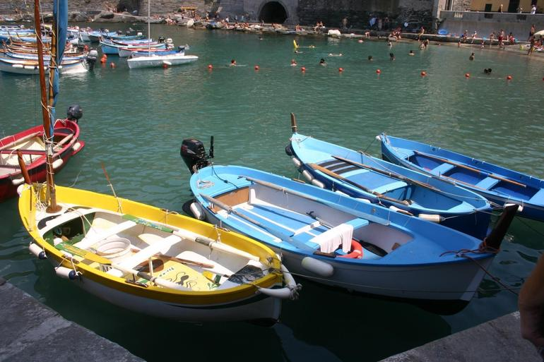 Boats in the Cove - Florence