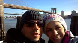Walking thru Brooklin Bridge , Angel P - January 2013