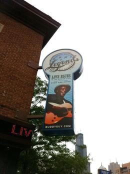 Stop in for lunch-good food, great live blues, cool memorabilia throughout , Kim C - July 2011
