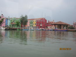 arriving into Burano , Rose J - May 2013