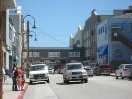 This is small beach town called Cannery Row in Monterey Bay. It's a very nice place to shop and have fresh seafood. , SAMEER C - May 2011