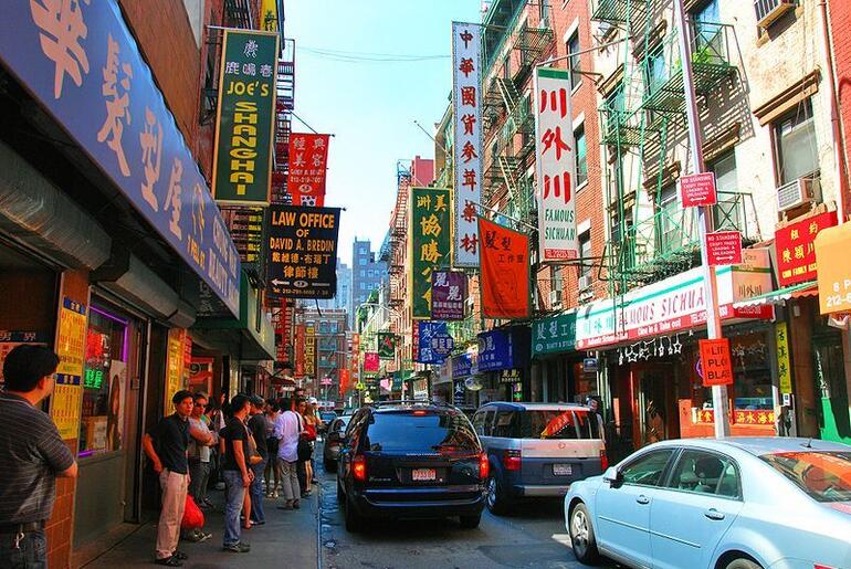 Chinatown, NYC, on Pell Street - New York City