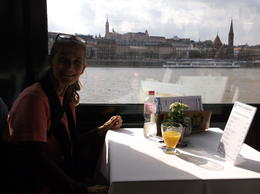 Photo of Budapest Danube River Lunch Cruise cruising the Danube!