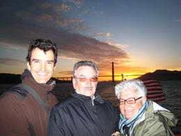 Photo of San Francisco San Francisco Bay Sunset Cruise Family at sunset