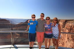 Family pic on the skywalk , Paula R - September 2014