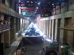 Photo of Las Vegas Ultimate Hoover Dam Tour Generator room inside Dam