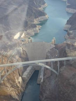 Photo of the Hoover Dam from the Helicopter , Katherine S - June 2014