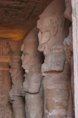 Photo of Aswan Private Tour: Abu Simbel by Minibus from Aswan Inside Abu Simbel