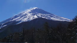 We were lucky to view Mt Fuji on a clear sunny day. , Redz - January 2014